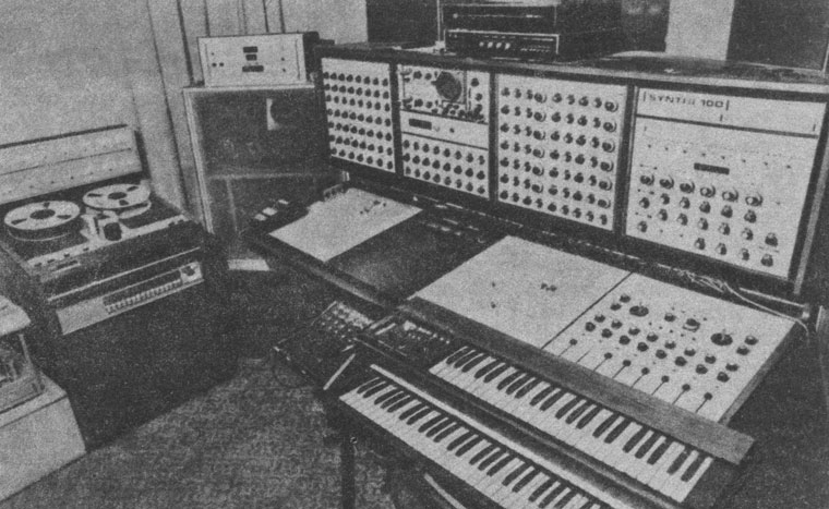 Synthi 100 at Melodiya Studio